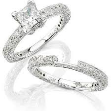 platinum wedding ring sets platinum bridal ring sets