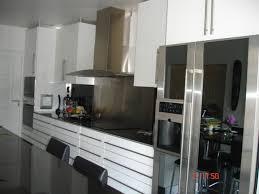 modele cuisine blanc laqué cuisine blanc laque buffet bahut blanc laqu et anthracite lubery