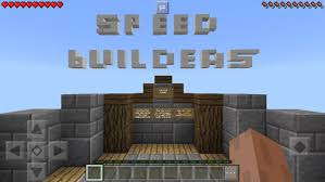 minecraft 0 8 0 apk speed builders map for minecraft for android apk