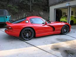 97 dodge viper gts buy used 1997 dodge viper gts supercharged hre wheels