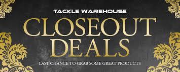 tackle warehouse black friday closeout deals at tackle warehouse