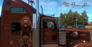 kenworth custom parts kenworth w900 the bears den khross custom skin mod american
