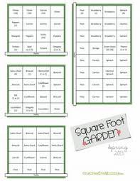printable square foot gardening cheat sheets plant u0026 plate
