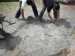 Backyard Fire Ring by How To Create A Fieldstone And Sand Fire Pit Area How Tos Diy