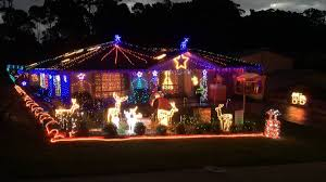 trevor u0027santa u0027 bennett and his amazing christmas light show on at