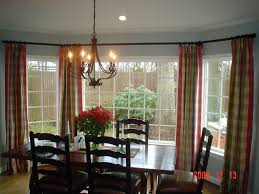 dining room window treatment with fine dining room window