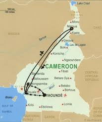 map of cameroon map of cameroon heifer 12 x 12