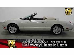 maserati hardtop convertible 2004 to 2006 ford thunderbird for sale on classiccars com