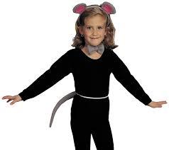 halloween costume accessories amazon com rubie u0027s costume child u0027s mouse costume accessory kit