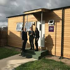 pics inside 14x30 house homeless teenager is first to move into 40k u0027micro home u0027 daily
