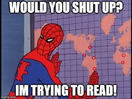 How To Read Meme - spiderman map imgflip