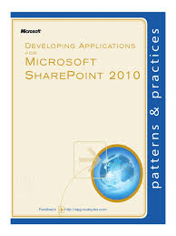 sharepoint 2010 development patterns and practices share point