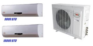 ductless mini split air conditioner ymgi 27000 btu dual zone ductless mini split air conditioner heat pump