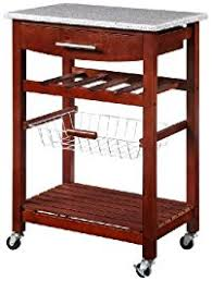 small rolling kitchen island kitchen islands carts amazon com