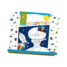 Cahier de coloriages 5 Monstres Sycomore