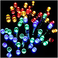 led fairy string lights solar party lights 60 led fairy string light decoration on sunnybunny