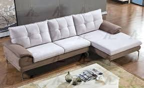 Gray Microfiber Sectional Sofa Modern Microfiber Sectional Sofa Euprera2009