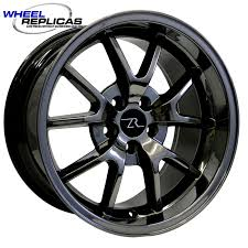 Black Mustang Rims For Sale Wheel Replicas Mustang Wheels Free Shipping