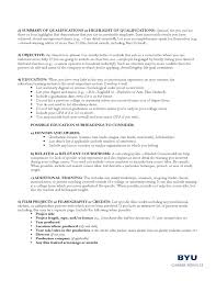 Resume Examples Byu by Guidelines For A Filmmaker U0027s Resume Free Download