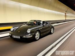 porsche 964 1994 porsche 964 speedster european car magazine