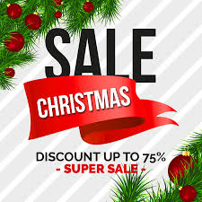 christmas sale 6 free christmas sale banners free design resources