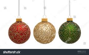 gold green ornaments on stock photo 19887256