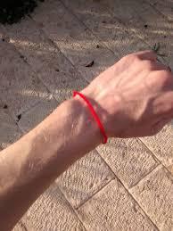 string red bracelet images Red string kabbalah wikipedia jpg