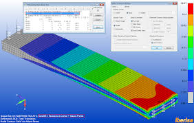 how to select in femap stress strain output at gau siemens
