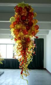 Murano Blown Glass Chandelier Led Lights Bulbs Blown Glass Chandelier And Murano Glass Sculptures