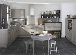 cuisine bois gris moderne photo cuisine grise et bois 13 lapeyre1 lzzy co