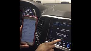 how to connect phone to jeep grand how to connect bluetooth to your 2015 jeep grand srt with