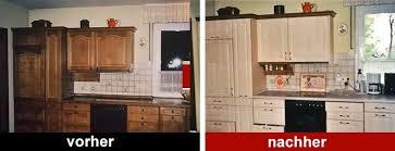 k che bekleben vorher nachher awesome küche folieren vorher nachher gallery house design ideas