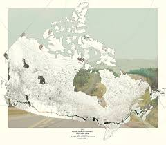 Trans Canada Highway Map by Wilderness U0026 Exodus The Production Of A National Landscape
