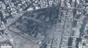 satellite imagery analysis for urban conflict documentation