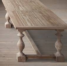 restoration hardware 17 c monastery table 17th c monastery dining tables all rectangular tables