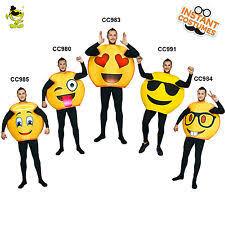 Emoticon Costume Halloween Halloween Funny Costume Men Ebay