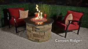 Bond Propane Fire Pit Canyon Ridge 24 In Gas Fire Table On Vimeo
