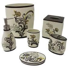 Baroque Bathroom Accessories Floral Bathroom Accessories Shop The Best Deals For Nov 2017