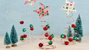 one more minute how to make wire tree holiday decor youtube