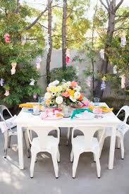 pottery barn kids flower table easter playdate with pottery barn kids