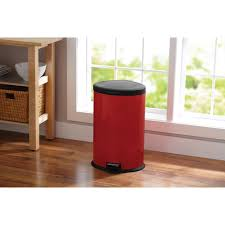 Large Kitchen Trash Can With Lid by Shop Trash Cans At Lowes Com Extra Large Plastic 0868761 Ooferto