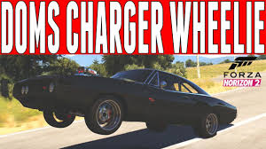 how to build a dodge charger forza horizon 2 dom s dodge charger wheelie build furious 7