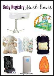 baby registrys registry must haves the fitnessista