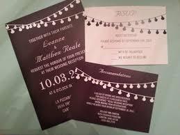 Chalkboard Wedding Programs Affordable String Lights Chalkboard Wedding Invitations Ewi356 As