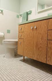 Green Bathroom Vanities Kate U0027s 1960s Green Bathroom Remodel U0027lite U0027 Before And After