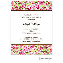 bridesmaids luncheon invitations bridal luncheon invitations sweet pea designs
