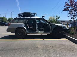 badass subaru outback when you have a subaru but zombie hunting is life