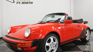 porsche turbo convertible 1988 porsche 911 turbo cabriolet for sale near fort worth texas