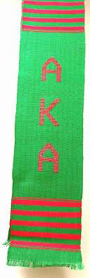 aka graduation stoles aka kente cloth graduation stole green alpha kappa alpha kente