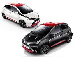 toyota aygo cars toyota aygo 2017 x press and x style models revealed price